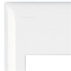 Placa 4x2 para 1 Módulo Thesi Up Branco  - BTicino