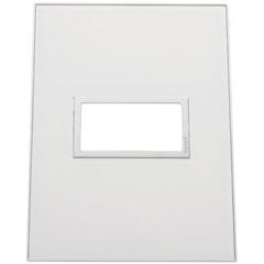 Placa para 1 Posto Arteor Mirror White 4x2  - Pial Legrand