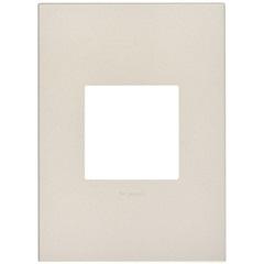 Placa para 2 Postos Arteor Pearl Alumínio 4x2 - Pial Legrand