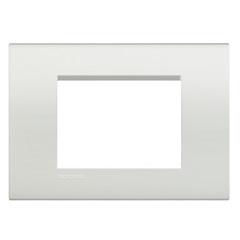 Placa para 3 Postos 4x2 Living Bianco - BTicino