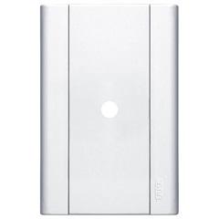 Placa Saída de Fio 4x2 Modulare Branca