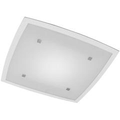 Plafon Flat 37x37cm 2 Luzes E27 - Bronzearte