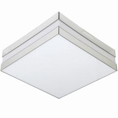 Plafon para 2 Lâmpadas Bilbao Espelho Quadrado - Madrilux