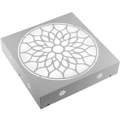 Plafon Quadrado Árabe Branco 6000k Luz Branca - RCG Tecnologia