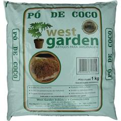 Pó de Coco Saco com 1kg - West Garden