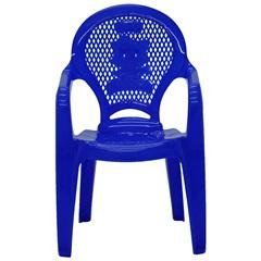 Poltrona de Plástico Infantil Catty Estampada Azul - Tramontina