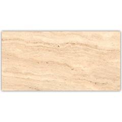 Porcelanato Travertino Navona Bege Retificado Escovado 52,7x105cm - Biancogres