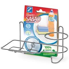 Porta Detergente E Bucha com Ventosas - Arthi