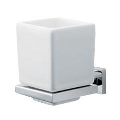 Porta Escova de Dente Quadratta Cromado C83 2090 - Deca