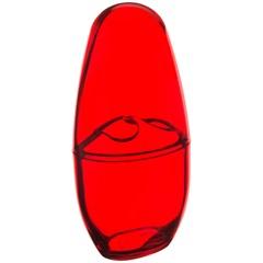 Porta Escova de Dentes com Tampa Spoom Vermelho - Coza