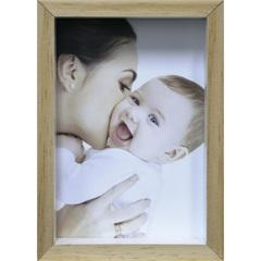 Porta-Retrato com Moldura Color Wood 15x21cm Branco