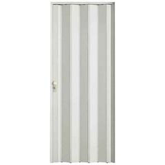 Porta Sanfonada Plast Porta com Fechadura 210x84cm Branca - BCF