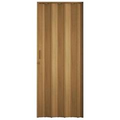 Porta Sanfonada Plast Porta com Puxador E Trinco 210x60cm Cerejeira