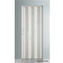 Porta Sanfonada Plast Porta com Puxador E Trinco 210x72cm