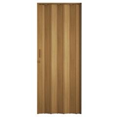 Porta Sanfonada Plast Porta com Puxador E Trinco 210x72cm Cerejeira