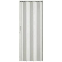 Porta Sanfonada Plast Porta com Puxador E Trinco 210x84cm Branca - BCF