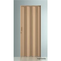 Porta Sanfonada Plast Porta com Puxador E Trinco 210x96cm