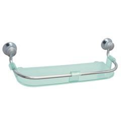 Porta Shampoo Magnus Verde E Cromado - Expambox