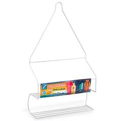 Porta Shampoo Pop Branco  - Arthi