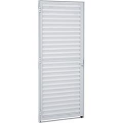Porta Veneziana Alumifit 215x77cm Branca