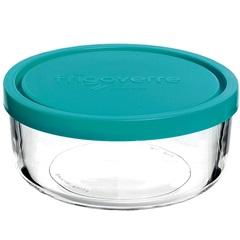 Pote em Vidro Transparente com Tampa Plástica 300ml Bormioli - GS