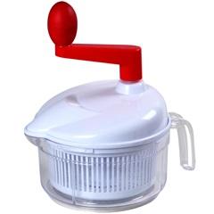 Processador de Alimentos em Polipropileno Branco E Vermelho - Casanova
