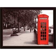 Quadro Cabine Londres 39x29cm