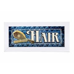 Quadro Hair 25 X 10 Cm