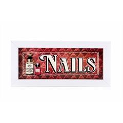 Quadro Nails 25 X 10 Cm