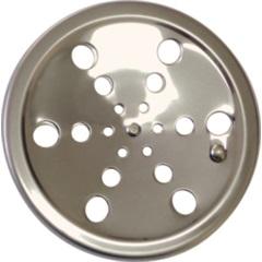 Ralo Laminado de Aço Inox Redondo sem Caixilho 10 Cm  - Aminox