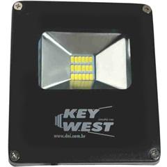Refletor Led 10w Bivolt Slim 6000k - Key West