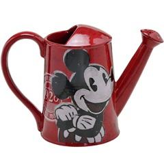 Regador Cerâmico Mickey 20x28cm Vermelho