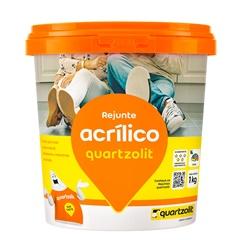 Rejunte Acrílico Marfim 1kg - Quartzolit
