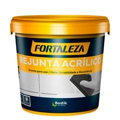 Rejunte Acrílico para Porcelanato Branco 1kg - Fortaleza