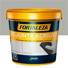 Rejunte Acrílico para Porcelanato Cinza 1kg - Fortaleza