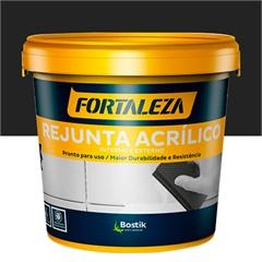 Rejunte Acrílico para Porcelanato Preto 1kg - Fortaleza