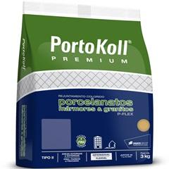 Rejunte para Porcelanato P-Flex Up Palha 3kg - Portokoll