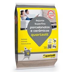 Rejunte para Porcelanatos E Cerâmicas Marrom Tabaco 5kg - Quartzolit