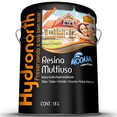 Resina Acrílica Impermeabilizante Multiuso Acqua Cerâmica Ônix 18 Litros - Hydronorth