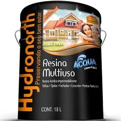 Resina Acrílica Impermeabilizante Multiuso Acqua Incolor 18 Litros - Hydronorth