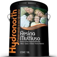 Resina Acrílica Impermeabilizante Multiuso Incolor 18 Litros - Hydronorth