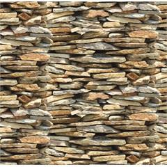 Revestimento Auto Adesivo Pedras 45cm com 2 Metros - Plastcover