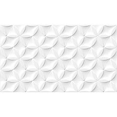 Revestimento Esmaltado Borda Bold Hd Branco 32,5x56,5cm