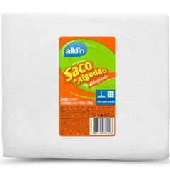 Saco de Algodão Alvejado para Limpeza 60x40cm Branco - Alklin