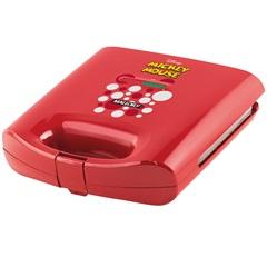Sanduicheira Elétrica 750w 220v Mickey Mouse Vermelha - Mallory