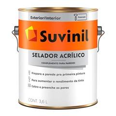Selador Acrílico 3,6 Litros Ref. 53445344 - Suvinil