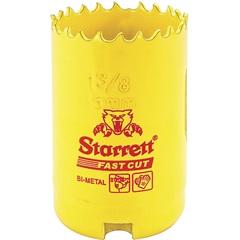 """Serra Copo Fast Cut 35mm - 1.3/8"""" Amarela - Starrett"""