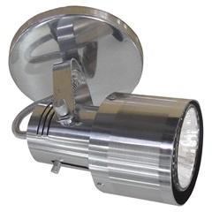 Spot de Sobrepor em Alumínio para 1 Lâmpada 60w 110v Polido E Lixado - Spot Line