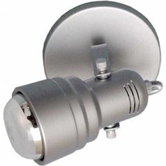 Spot de Sobrepor em Alumínio para 1 Lâmpada 60w 110v Prata - Spot Line