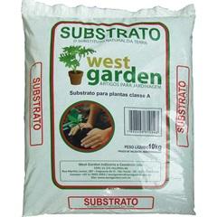 Substrato Natural Saco com 10kg - West Garden